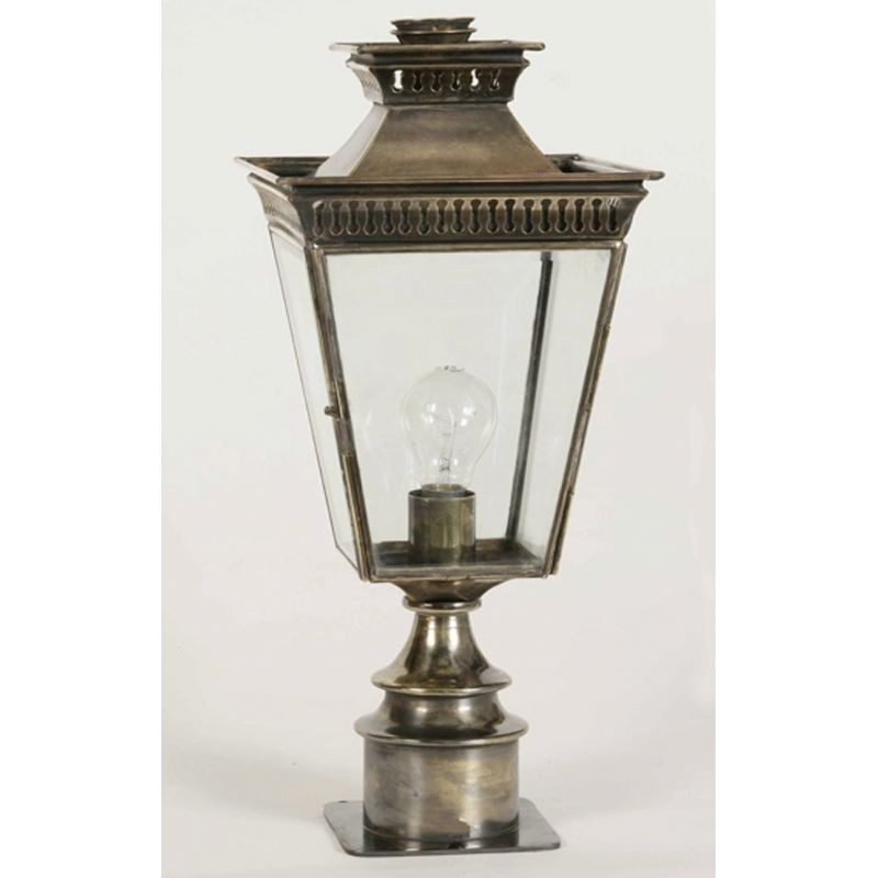Limehouse Pagoda Short Pillar Lamp