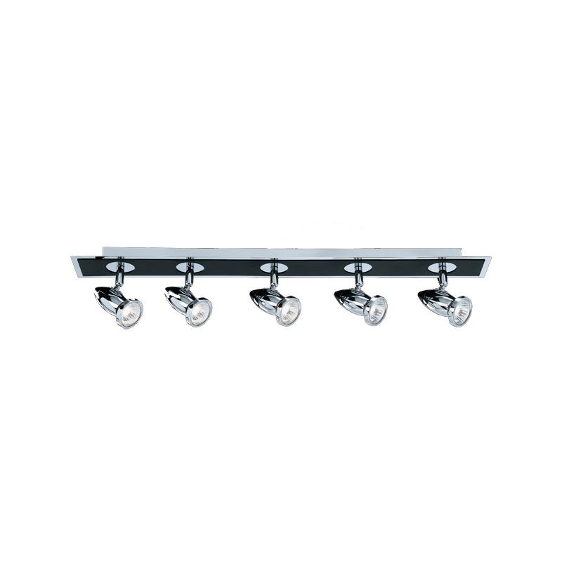 Comet 5 Light Bar Spotlight Black/Chrome