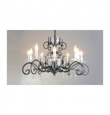 Elstead Amarilli 10 Light Chandelier
