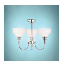 Elstead Cheadle 3 Light Semi Flush