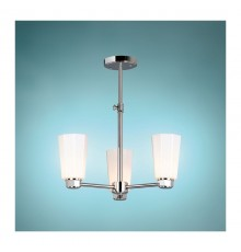 Elstead Eversley 3 Light Semi Flush