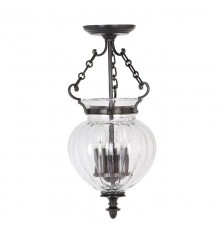 Elstead Finsbury Park 3 Light Lantern Small