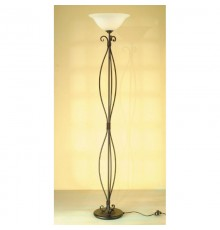 Elstead Torchiere 1 Light Floor Uplighter