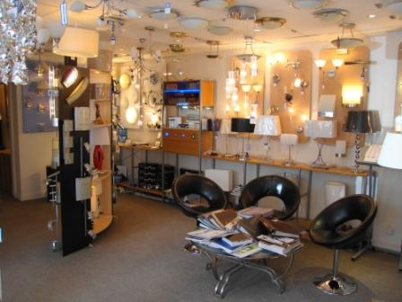 robinsons lighting showroom